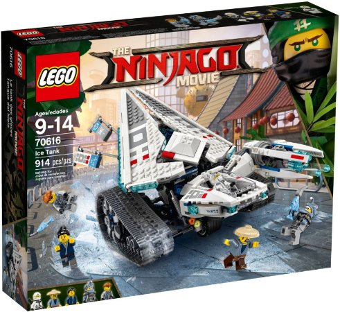 LEGO NINJAGO THE MOVIE 70616 ICE TANK