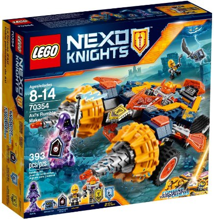 LEGO NEXO KNIGHTS 70354 AXL'S RUMBLE MAKER