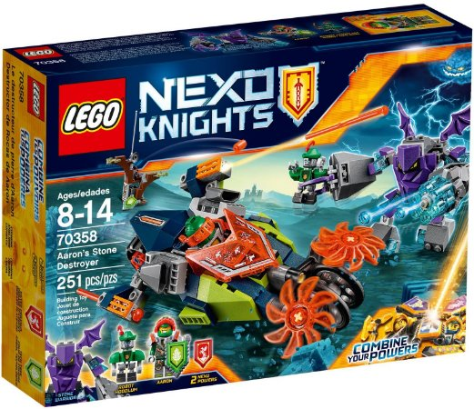 LEGO NEXO KNIGHTS 70358 AARON'S STONE DESTROYER