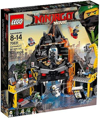 LEGO NINJAGO THE MOVIE 70631 GARMADON'S VOLCANO LAIR