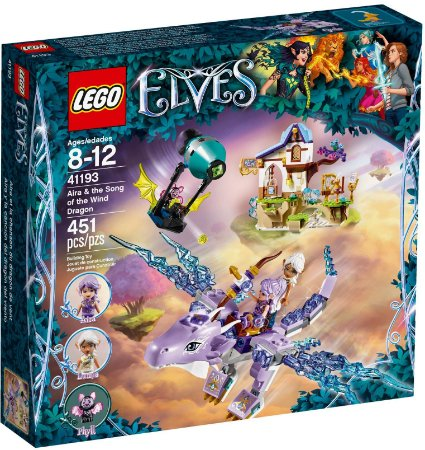 LEGO ELVES 41193 AIRA & THE SONG OF THE WING DRAGON