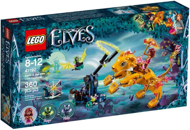 LEGO ELVES 41192 AZARI & THE FIRE LION CAPTURE
