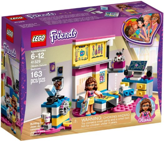 LEGO FRIENDS 41329 OLIVIA'S DELUXE BEDROOM