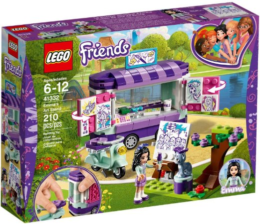 LEGO FRIENDS 41332 EMMA'S ART STAND