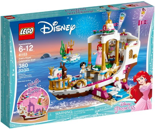 LEGO DISNEY 41153 ARIEL'S  ROYAL CELEBRATION BOAT