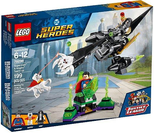 LEGO SUPER HEROES 76096 SUPERMAN & KRYPTO TEAM-UP