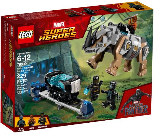 LEGO SUPER HEROES 76099 RHINO FACE-OFF BY THE MINE