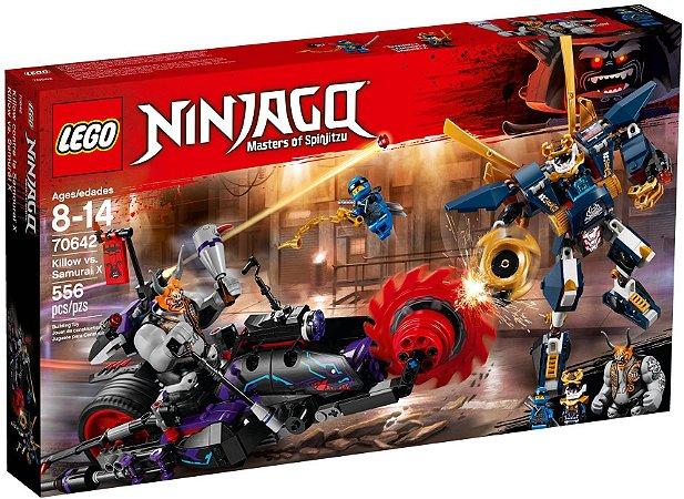 LEGO NINJAGO 70642 KILLOW VS SAMURAI X