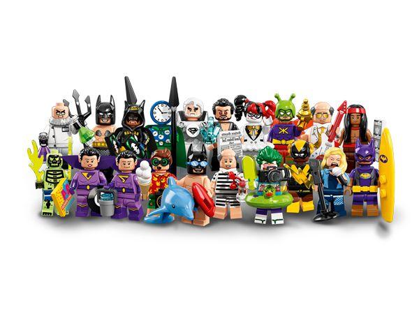 LEGO MINIFIGURES 71020 LEGO BATMAN MOVIE (COLEÇÃO COMPLETA)
