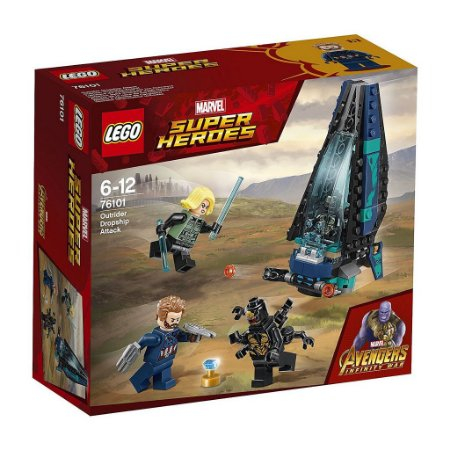 LEGO SUPER HEROES 76101 OUTRIDER DROPSHIP ATTACK