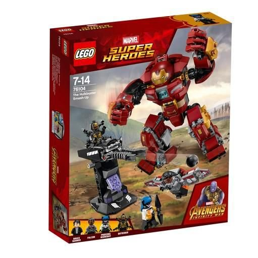 LEGO SUPER HEROES 76104 THE HULKBUSTER SMASH-UP