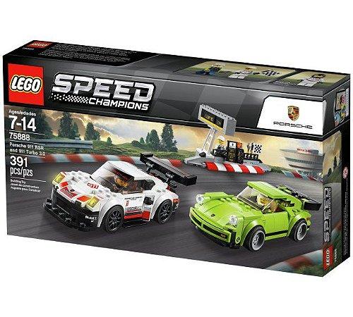 LEGO SPEED CHAMPIONS 75888 PORSCHE 911 RSR AND 911 TURBO 3.0