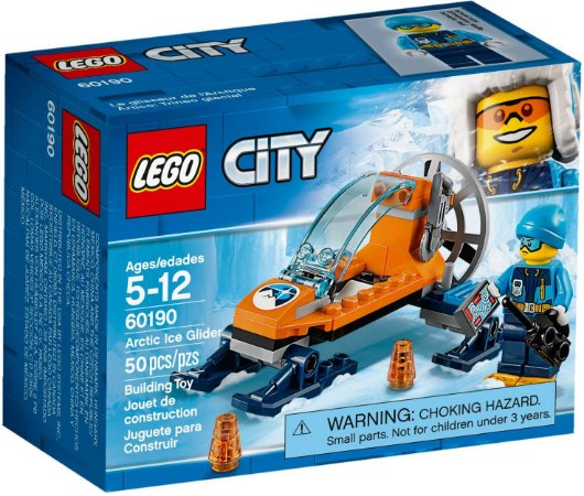 LEGO CITY 60190 ARCTIC ICE GLIDER