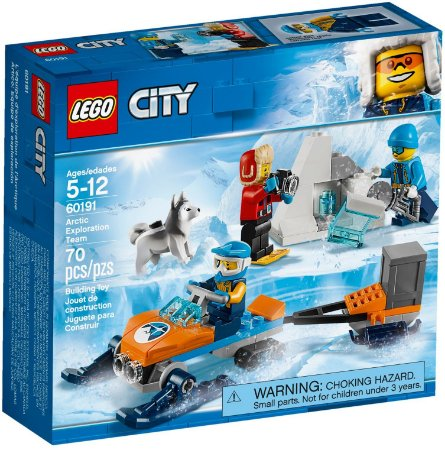 LEGO CITY 60191 ARCTIC EXPLORATION TEAM