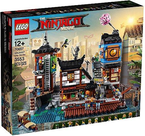 LEGO NINJAGO THE MOVIE 70657 NINJAGO CITY DOCKS