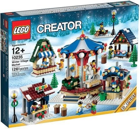 LEGO CREATOR 10235 WINTER VILLAGE MARKET