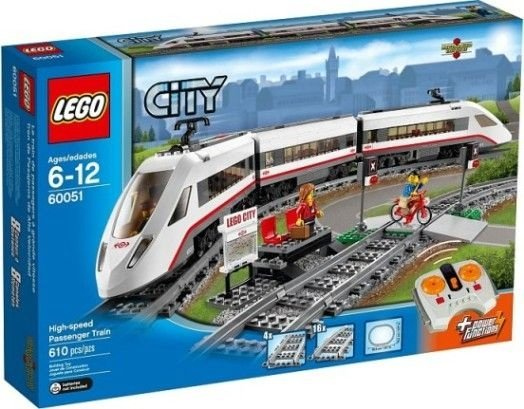 LEGO TRAINS 60051 HIGH-SPEED PASSENGER TRAIN