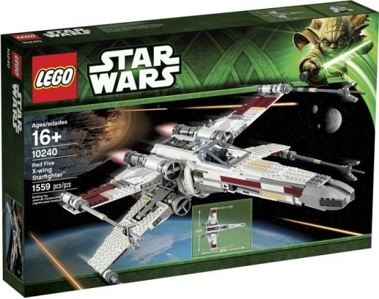 LEGO STAR WARS 10240 RED FIVE X-WING STARFIGHTER UCS