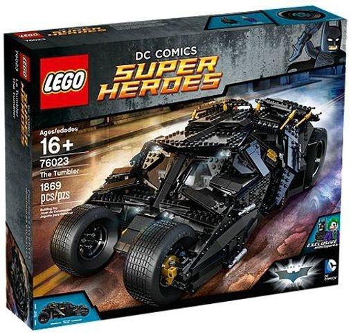 LEGO SUPER HEROES 76023 BATMAN: BATMÓVEL TUMBLER