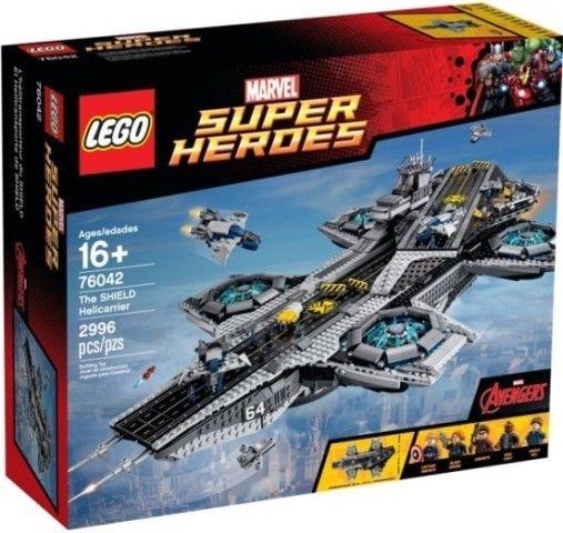 LEGO SUPER HEROES 76042 SHIELD: PORTA-AVIOES VOADOR