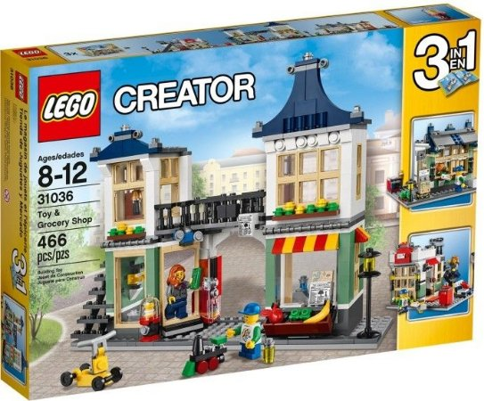 LEGO CREATOR 31036 TOY & GROCERY STORE