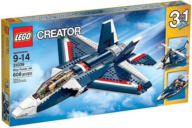 LEGO CREATOR 31039 BLUE POWER JET