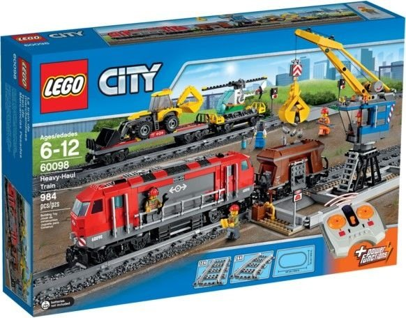 LEGO TRENS 60098 HEAVY-HAUL TRAIN
