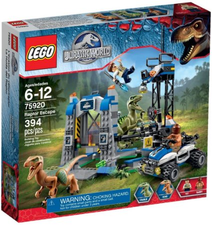 LEGO JURASSIC WORLD 75920 RAPTOR ESCAPE