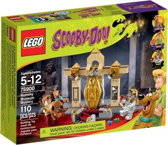 LEGO SCOOBY DOO 75900 MUMMY MUSEUM MYSTERY