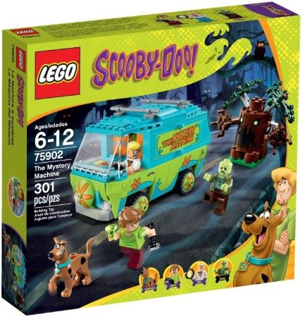 LEGO SCOOBY DOO 75902 THE MYSTERY MACHINE