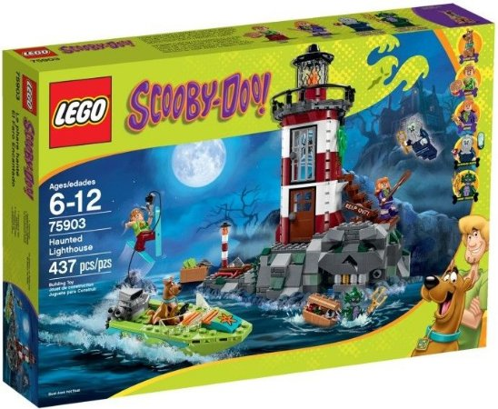 LEGO SCOOBY DOO 75903 HAUNTED LIGHTHOUSE