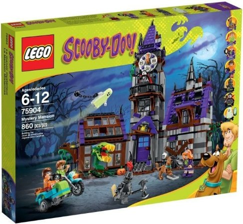LEGO SCOOBY DOO 75904 MYSTERY MANSION