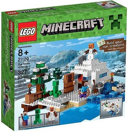 LEGO MINECRAFT 21120 O ESCONDERIJO NEVADO