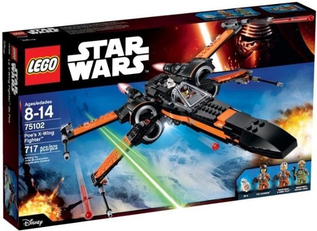 LEGO STAR WARS 75102 POE'S X-WING STAR FIGHTER