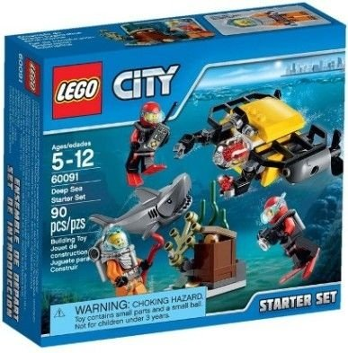 LEGO CITY 60091 DEEP SEA STARTER SET