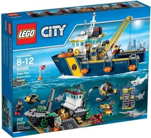 LEGO CITY 60095 DEEP SEA EXPLORATION VESSEL