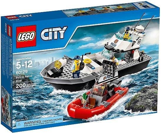 LEGO CITY 60129 POLICE PATROL BOAT