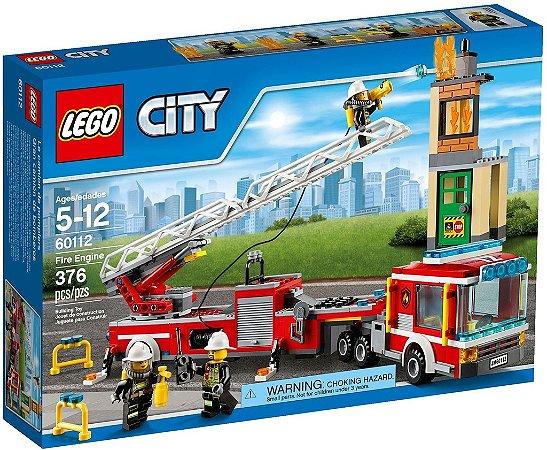 LEGO CITY 60112 FIRE ENGINE (Edição Limitada)