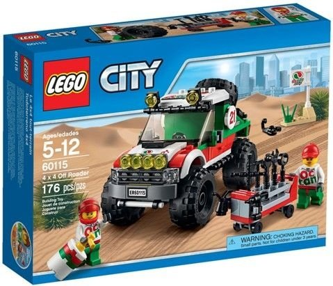 LEGO CITY 60115 4X4 OFF ROADER