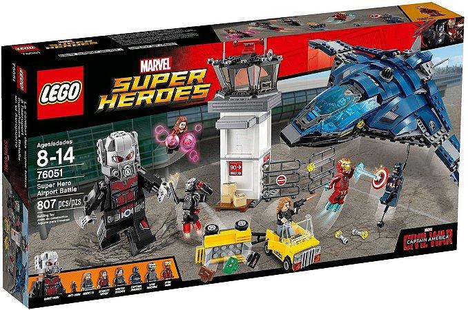 LEGO SUPER HEROES 76051 SUPER HERO AIRPORT BATTLE
