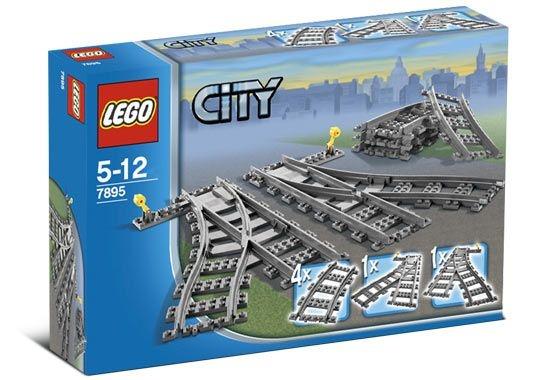 LEGO TRAINS 7895 SWITCHING TRACKS