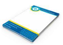 Receituários - Tamanho 15x21cm - Papel Sulfite 90g - Colorido