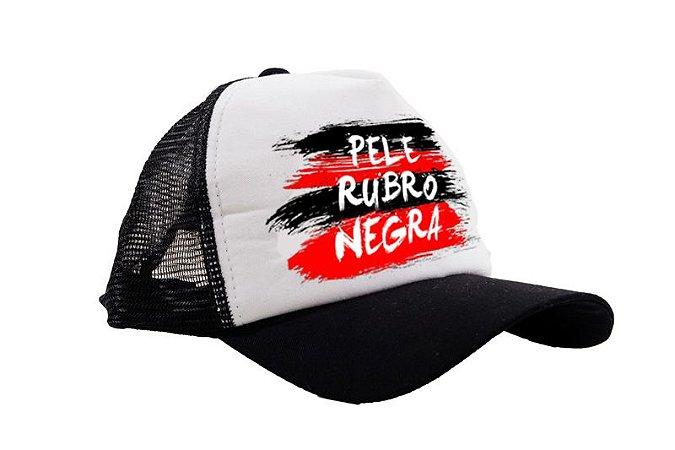 Boné Pele Rubro Negra