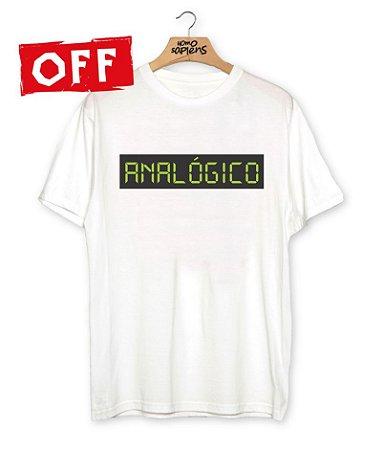Camiseta Analógico