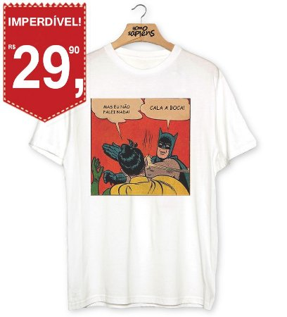 Camiseta Batman Indelicado