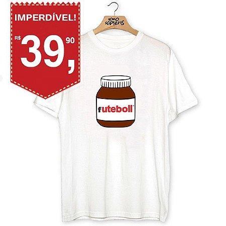 Camiseta Futebol Nutella