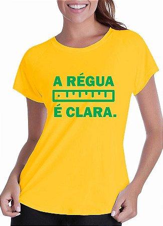 Camiseta Régua (feminina)