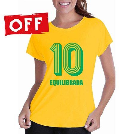 Camiseta Desequilibrada (Feminina)