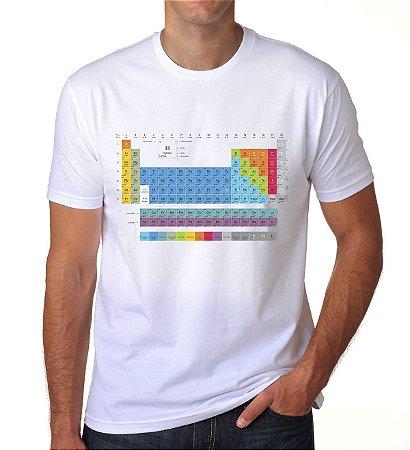 Camiseta Tabela Periódica