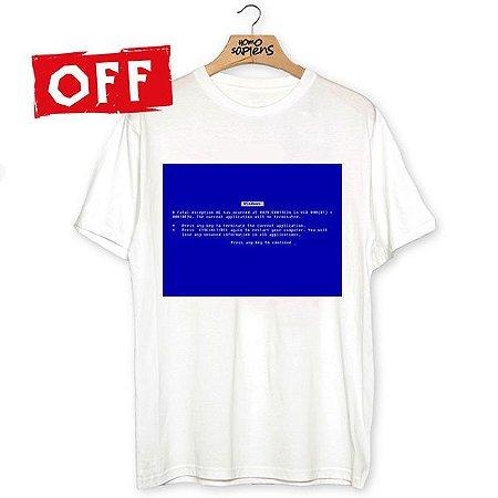 Camiseta Tela Azul